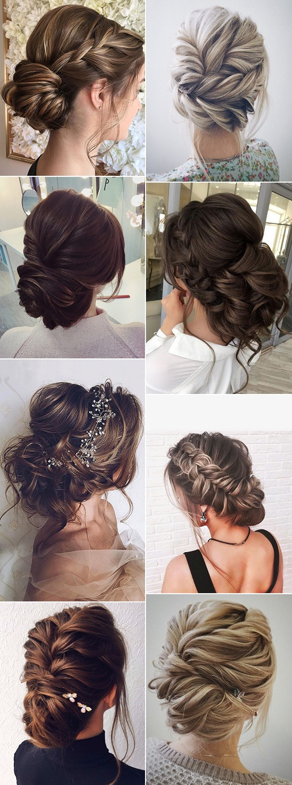 bridal updo wedding hairstyle ideas for 2019 trends