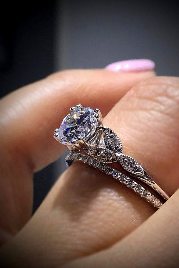 fabulous wedding engagement ring set
