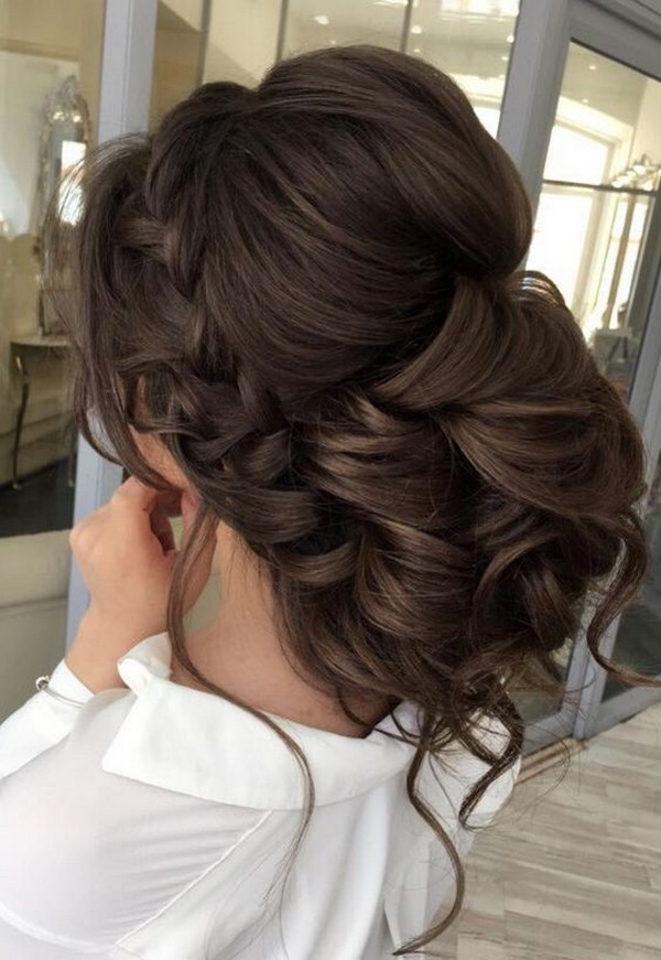 low updo wedding hairstyle ideas