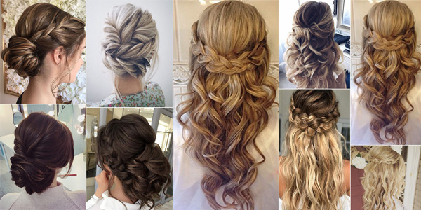10 Braided Hairstyles For Long Hair: Top 15 Wedding Hairstyles For 2017 Trends