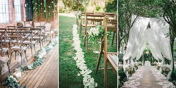 Top 10 Wedding Aisle Decoration Ideas To Steal Emmalovesweddings