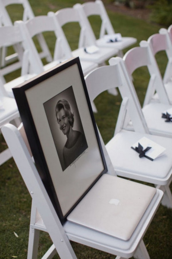 Honor Missing Loved Ones Wedding Ideas