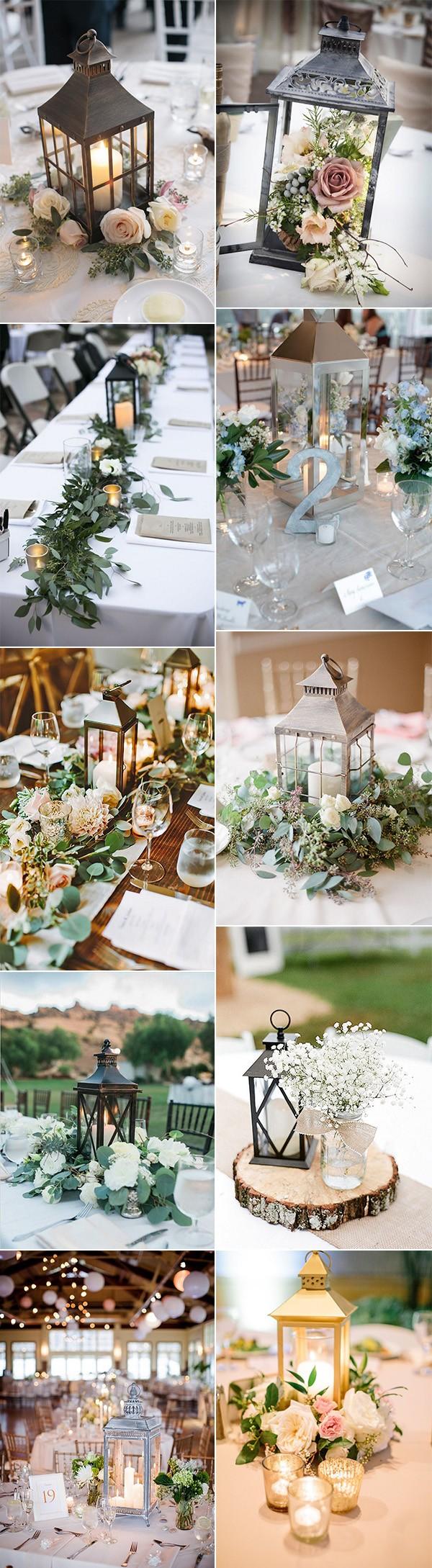 amazing creative lantern wedding centerpieces