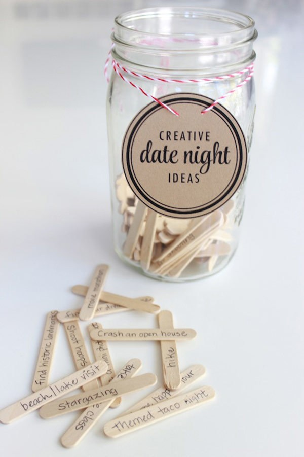 creative date night ideas game for bridal shower