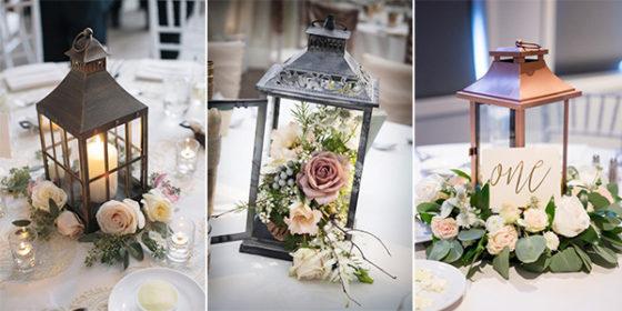 lantern wedding centerpieces