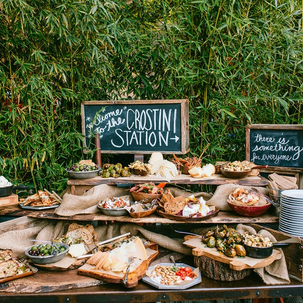 Food For Outdoor Wedding: 20 Great Wedding Food Station Ideas For Your Reception