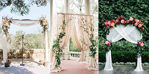 Wedding Ceremony Ideas Flower Covered Wedding Arch: 10 Stunning Wedding Arch Ideas For Your Ceremony