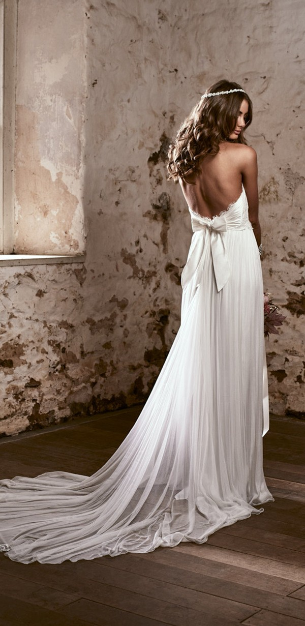 brooklyn anna campbell low back wedding dress for 2018