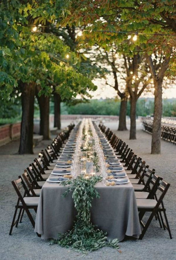 Top 18 Whimsical Outdoor Wedding Reception Ideas - Page 3 ...