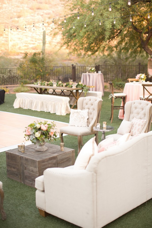 Top 18 whimsical outdoor wedding reception ideas page 2 for Outdoor sitting area ideas