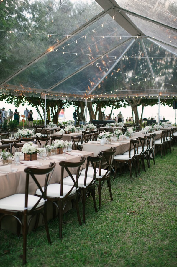tented outdoor wedding reception ideas
