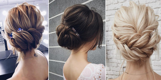 updo wedding hairstyles 2018 trends