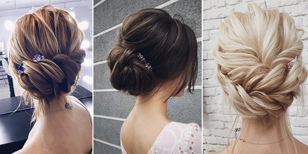 Top 20 Wedding Hairstyles For Medium Hair: 10 Amazing Updo Wedding Hairstyles From Lena Bogucharskaya