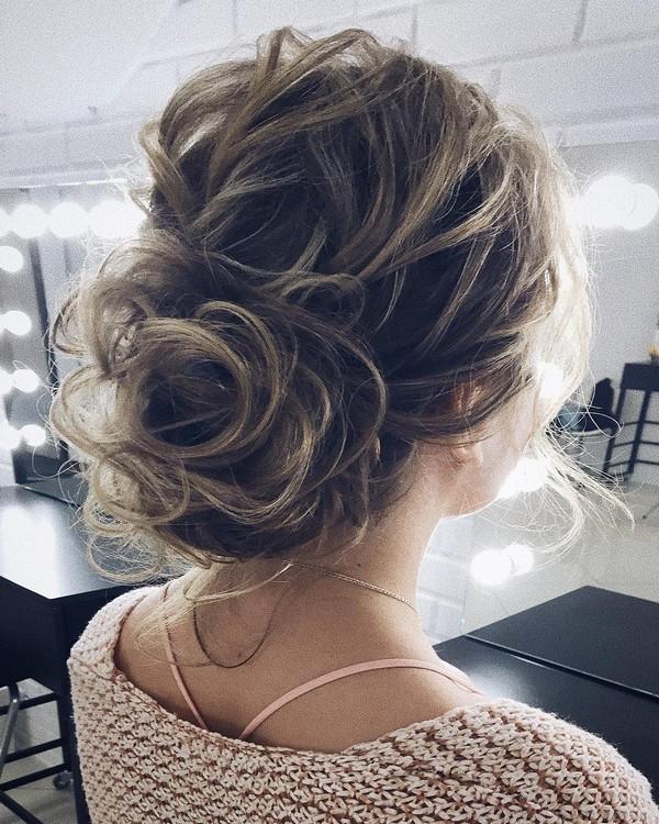 15 Chic Half Up Half Down Wedding Hairstyles For Long Hair: 10 Amazing Updo Wedding Hairstyles From Lena Bogucharskaya