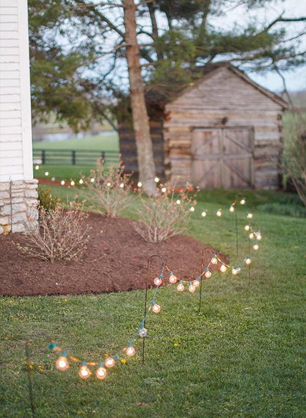 wedding decoration ideas with lights