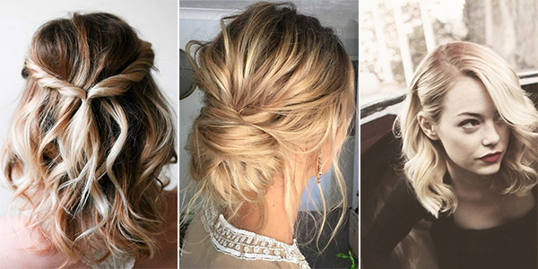 10 Latest Wedding Hairstyles for Medium Length Hair - EmmaLovesWeddings