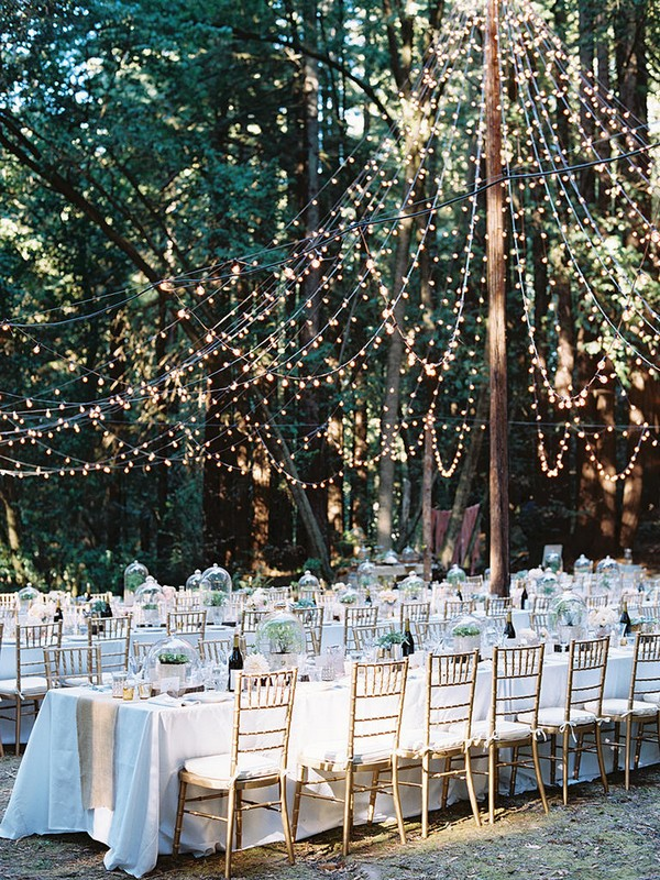 wedding reception ideas for outdoor backyard wedding