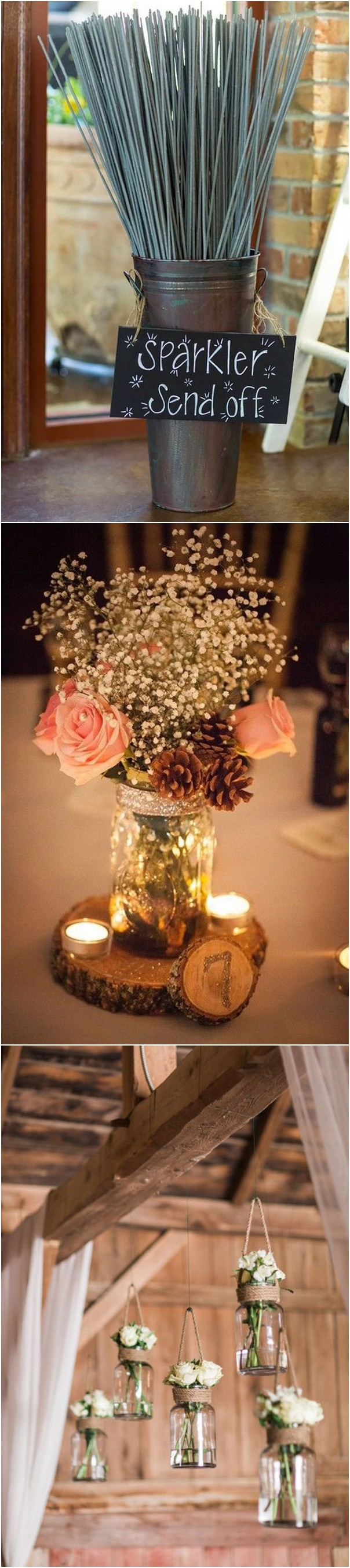 barn themed wedding decoration ideas