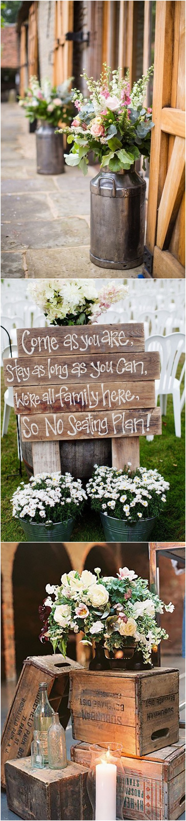 country themed barn wedding decorations