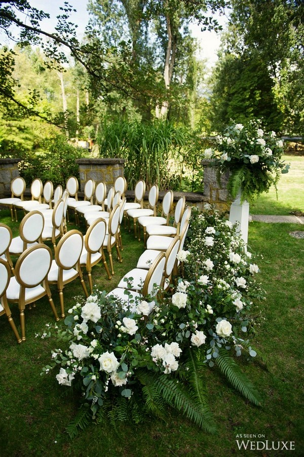 25 brilliant garden wedding decoration ideas for 2018 for Garden decoration ideas pictures