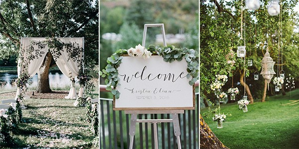 25 brilliant garden wedding decoration ideas for 2018 for Ideas for wedding pictures