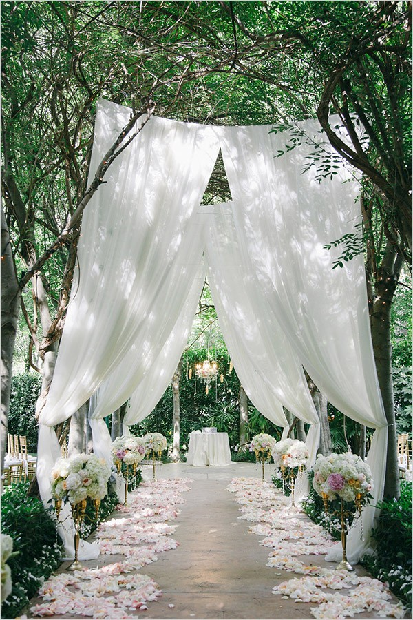 25 brilliant garden wedding decoration ideas for 2018 for Garden design ideas 2018