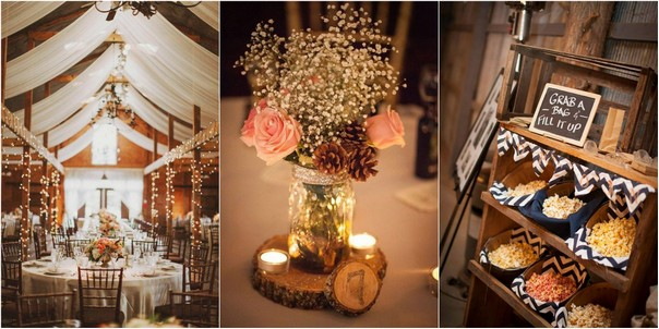 20 gorgeous ideas for a rustic barn wedding emmalovesweddings having a barn wedding might be one of the most popular styles of rustic weddings right now but often times you have to take the barn wedding venue and junglespirit Images