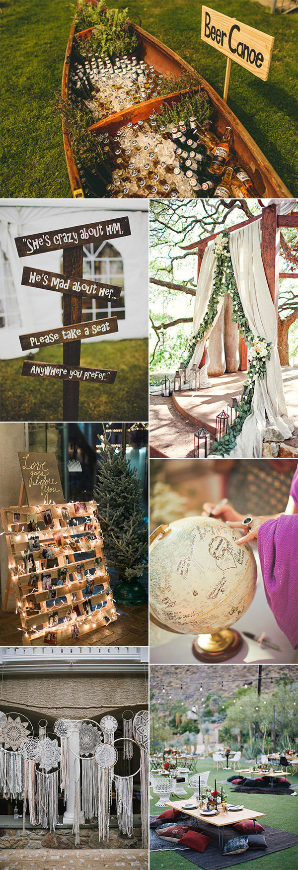 2018 trending boho wedding ideas