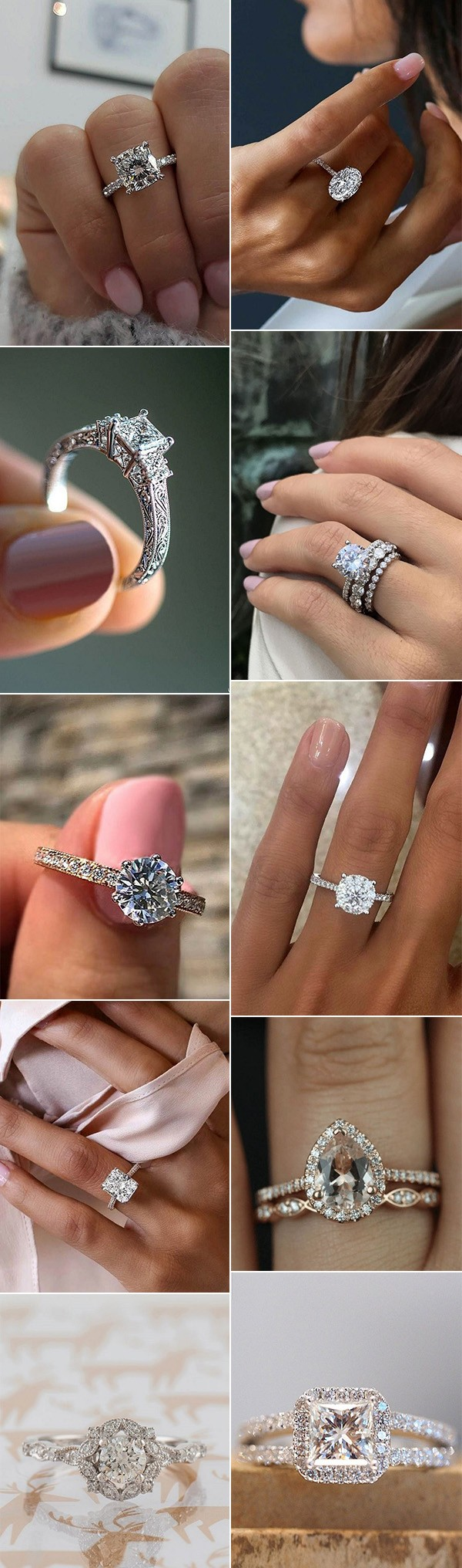 breathtaking wedding engagement rings for 2018