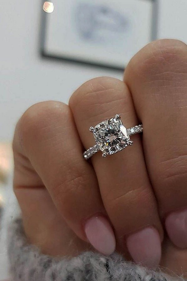 10 Breathtaking Wedding Engagement Rings For 2018