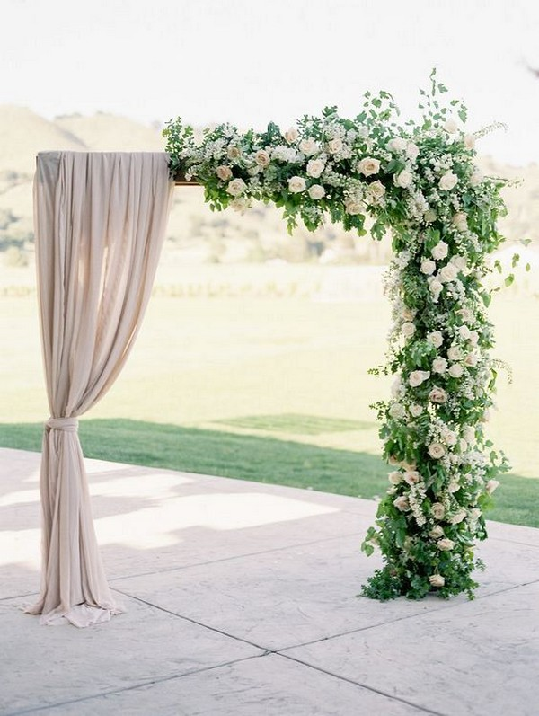 15 Trending Greenery Wedding Alter Decoration Ideas Page