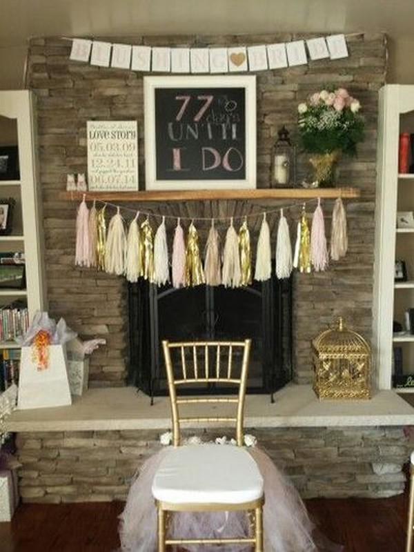 15 perfect bridal shower ideas for 2018 emmalovesweddings for Wedding shower decorations ideas