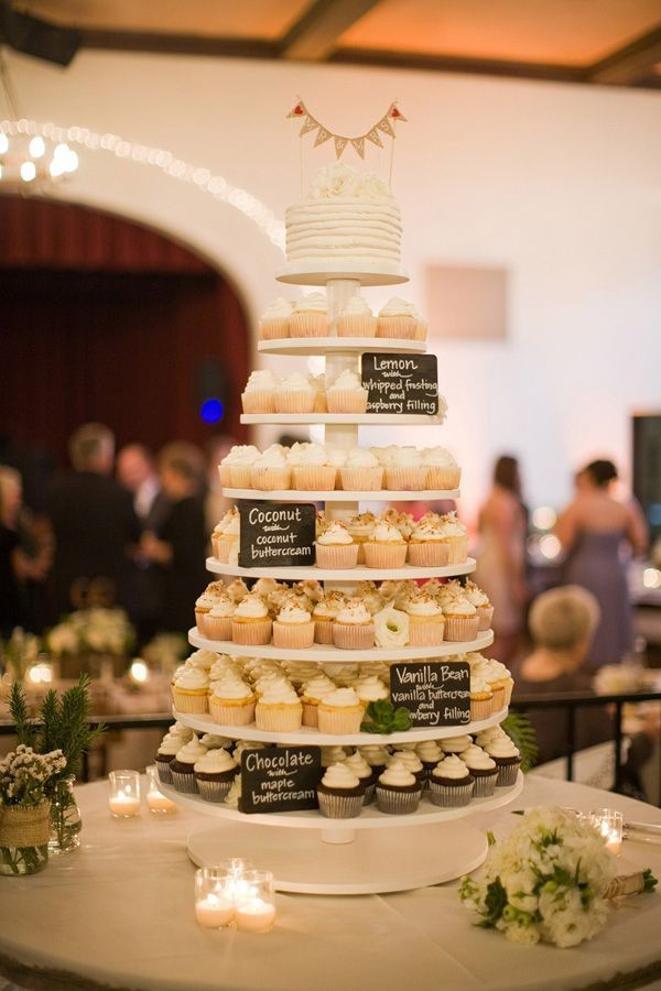 wedding cupcakes dessert tower