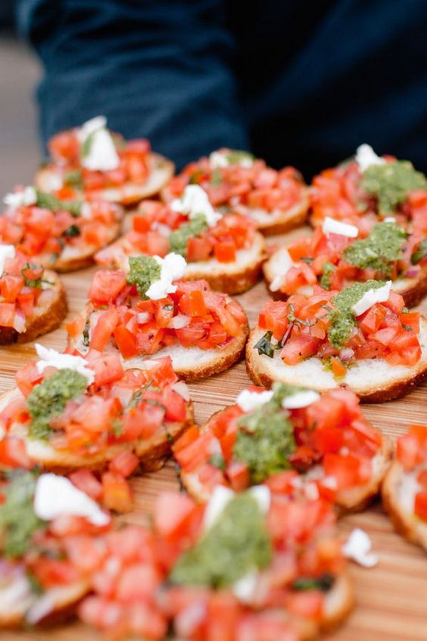 Wedding Appetizer food ideas