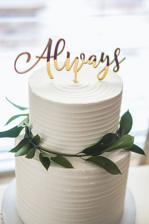 Admirable Chic Elegant Wedding Cake Emmalovesweddings Funny Birthday Cards Online Bapapcheapnameinfo