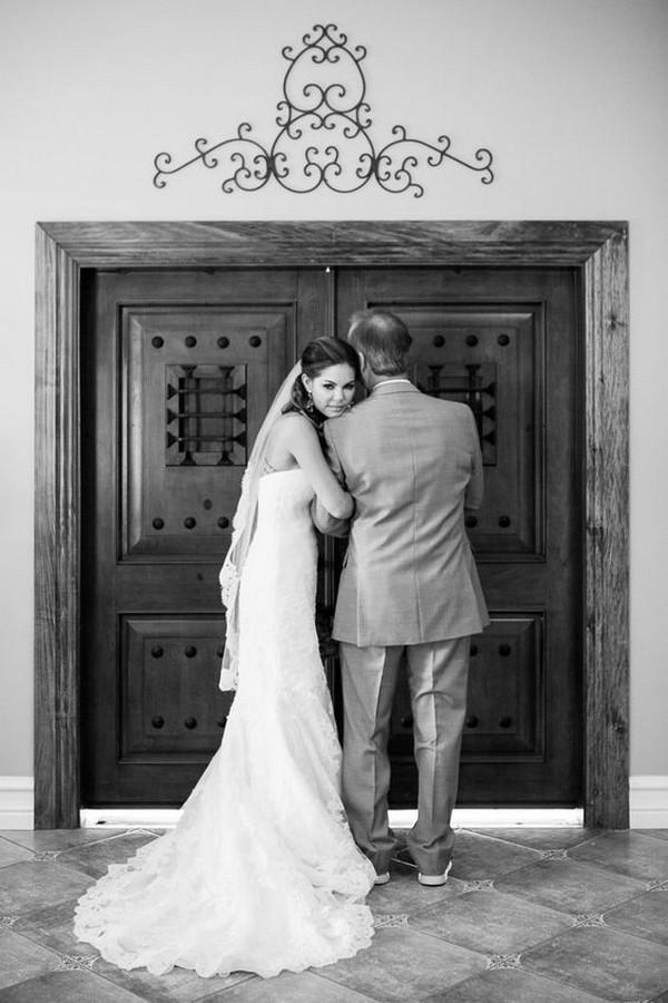 dad and bride wedding photo ideas
