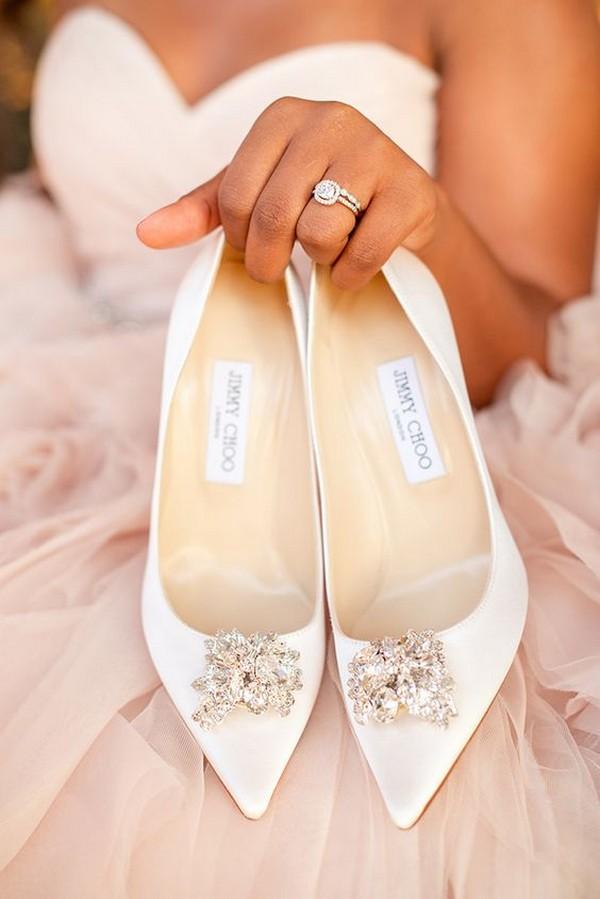 elegant Jimmy Choo wedding shoes