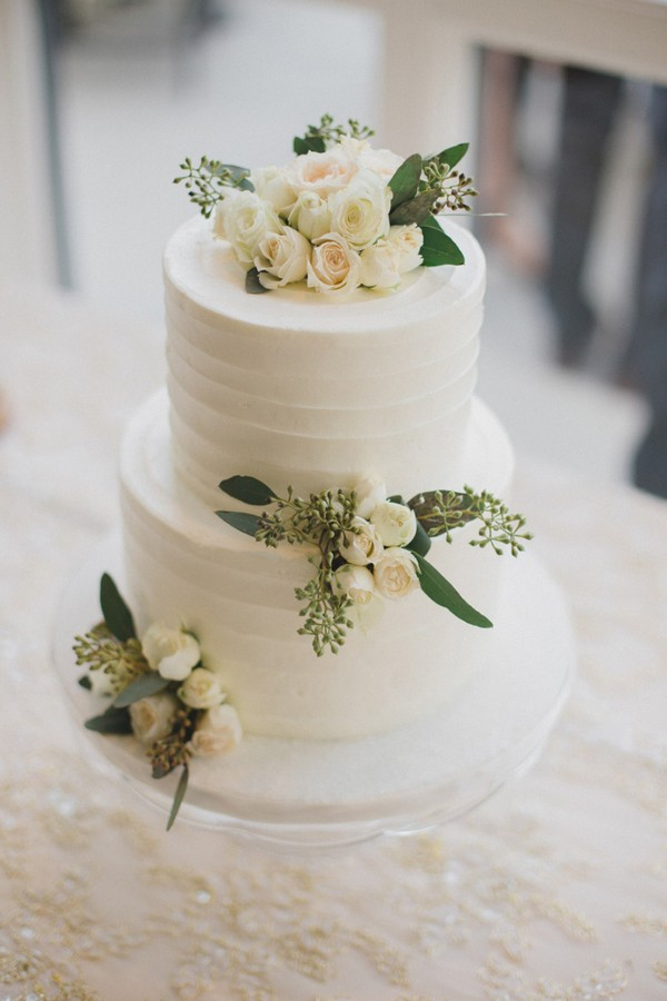 15 Simple but Elegant Wedding Cakes for 2018 - Page 2 of 2 ...