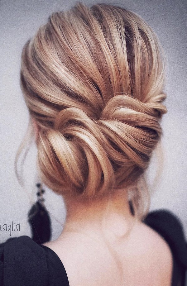 elegant updo wedding hairstyles for 2018 brides
