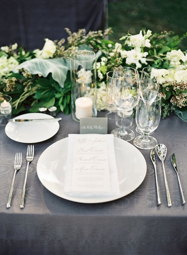elegant wedding table decoration ideas
