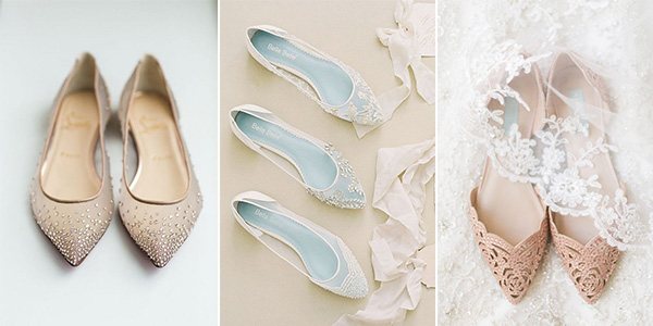 20 adorable flat wedding shoes for 2018 emmalovesweddings flat wedding shoes junglespirit Image collections