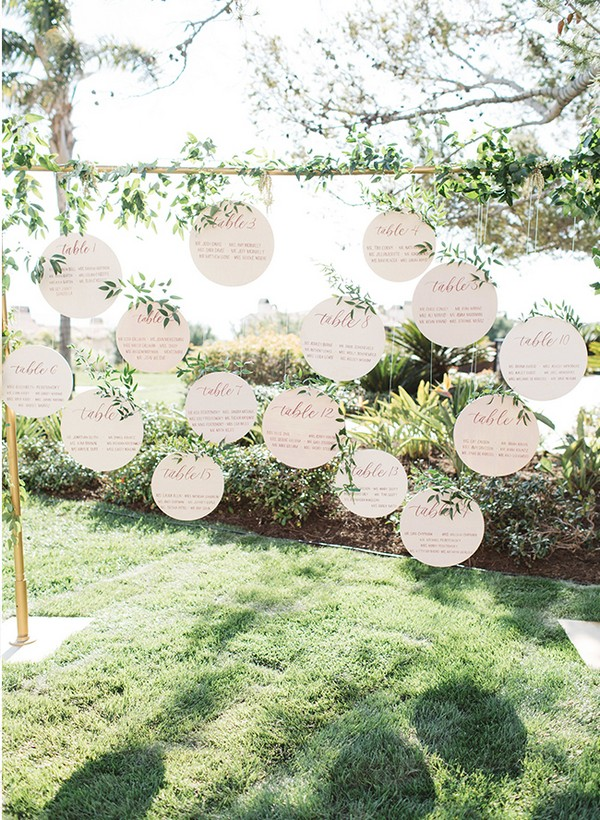 15 Trending Wedding Seating Chart Display Ideas for 2018 - Page 2 of ...