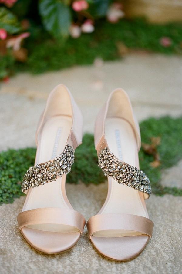 popular wedding shoes with rhinestones