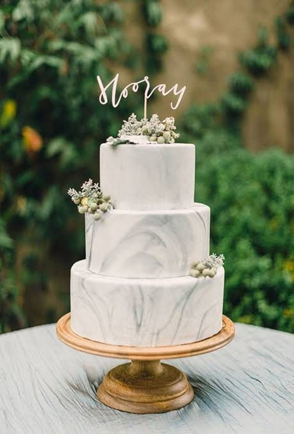 modern wedding cakes 2018 15 simple but wedding cakes for 2018 17480