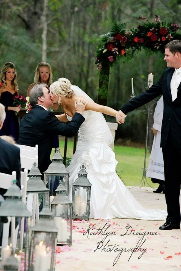 sweet father daughter wedding photo ideas