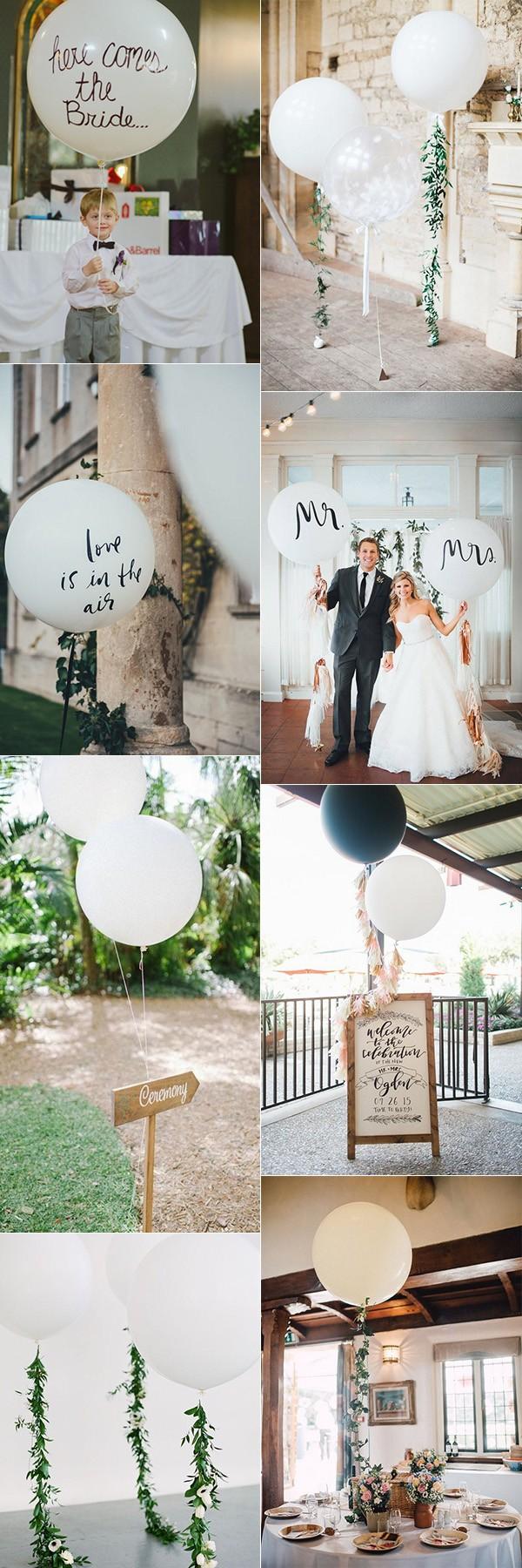 trending balloon wedding decoration ideas