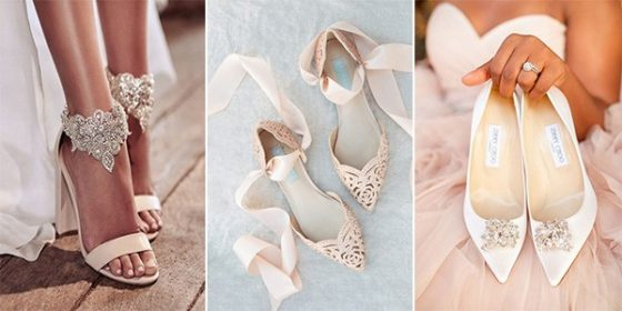 trending bridal wedding shoes