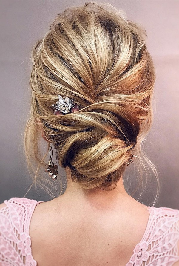 12 so pretty updo wedding hairstyles from tonyapushkareva updo wedding hairstyle ideas junglespirit Images