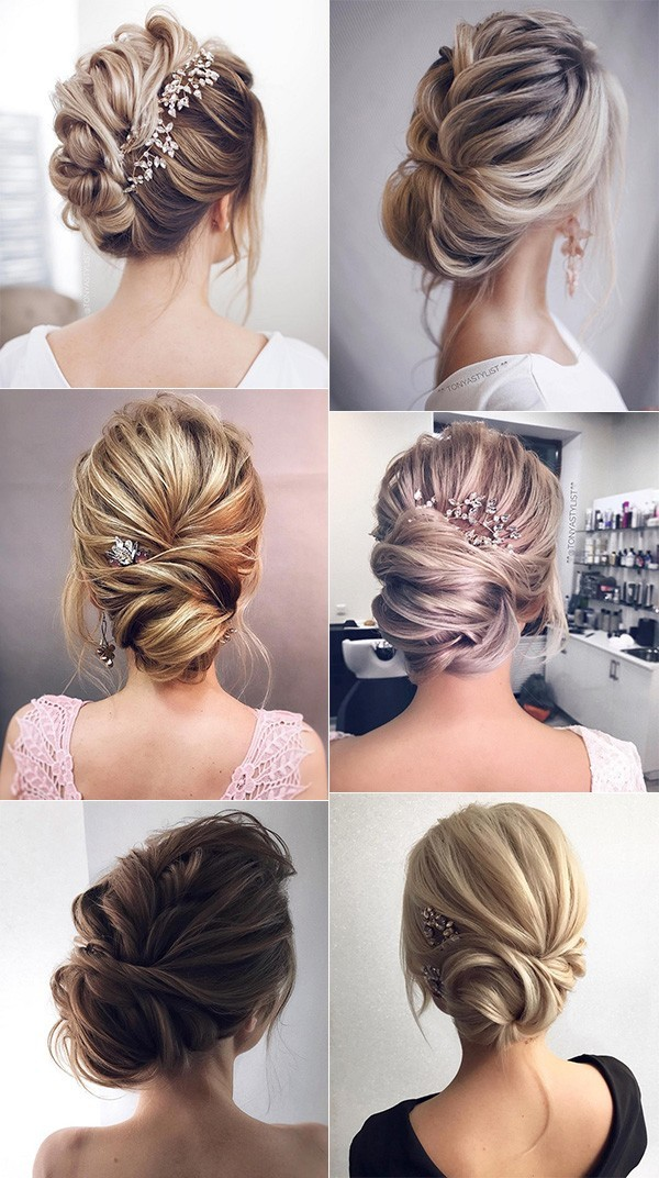 updo wedding hairstyles for elegant brides
