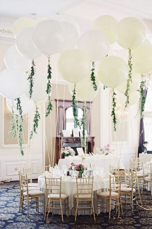 18 Awesome Wedding Ideas To Use Balloons Emmalovesweddings